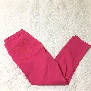 Seven7 Hot Pink Skinny Jeans - 14
